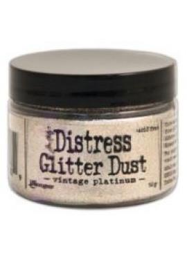 Distress Glitter Dust Vintage Platium