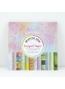 Clarity designer paper Candy shop Brighton rock