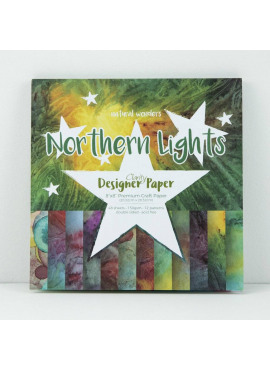 Clarity Designer paper natural wonders Nofthern lights