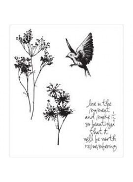 Stampers anonymous - Cling stamp - Nature's moments