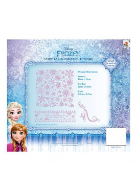 Disney Frozen snowflake embossing folders