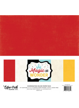 Magic and wonder Coordinating solids paper pack