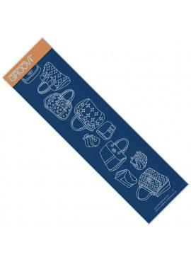 Groovi plate Bags groovi border Single