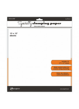 Specialty stamping paper - 12 x 12