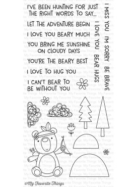 Premium Clear Stamps Beary Big Adventure