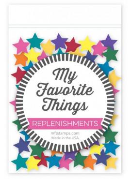 Replenishments  star confetti mix