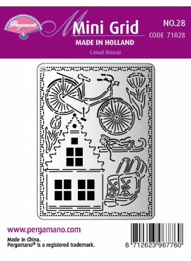 Mini Grid Made in Holland Canal House 28