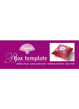Box Template doosje