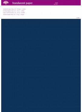 Translucent paper Navy