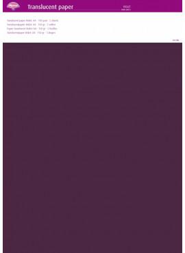 Translucent paper Purple