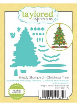 Simply Stamped - Christmas Tree