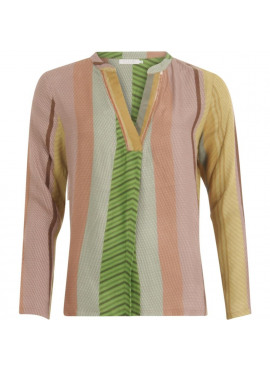 COSTER BLOUSE STROKE PRINT
