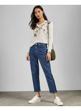 TED BAKER CASANDA NECK JUMPER