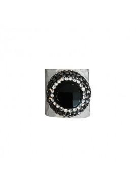 Bohemian ring silver