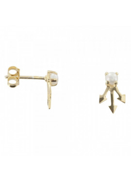 Pearl three arrow stud