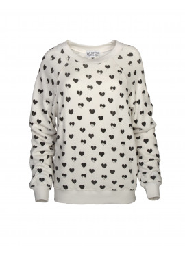 Heart melter sweater