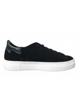 All black sneaker