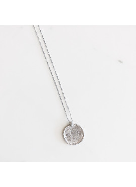 Pop coin necklace