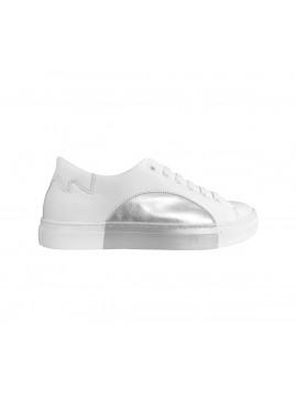 Silver moon sneaker