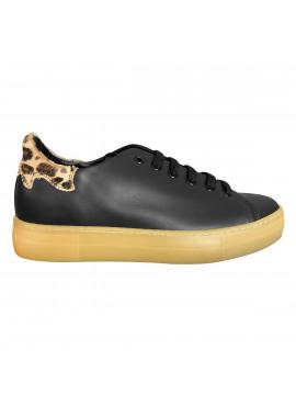 Black / Leopard sneaker