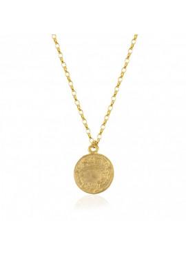 Coin ottoman necklace