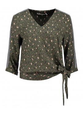 Mardi military blouse