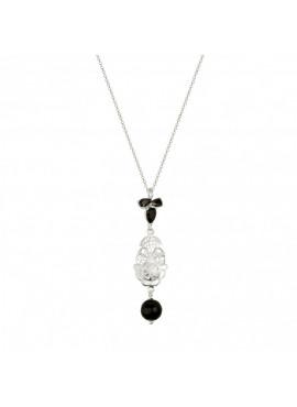 Louise victorian filigree silver
