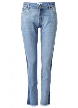 Zen raw edge jeans