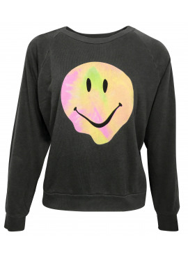 Psychedelic smiley sweater