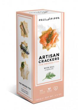 Artisanale crackers met dille 100g