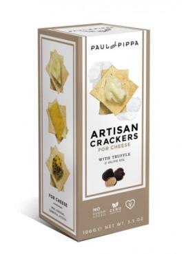 Artisanale crackers met truffel 100g