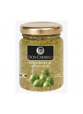 Bruschette met groene olijven, Don Carmelo, 100gr