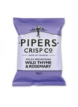 Pipers Crisp Co, wilde tijm & rozemarijn, 150gr