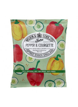 Tiptree paprika & courgette chips 14g
