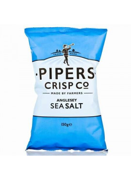 Pipers Crisp Co, Anglesey zeezout, 150  gr