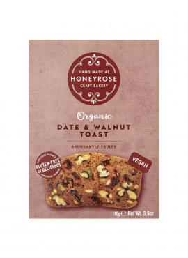 Toast met dadels en walnoten BIO (glutenvrij-vegan) 45g
