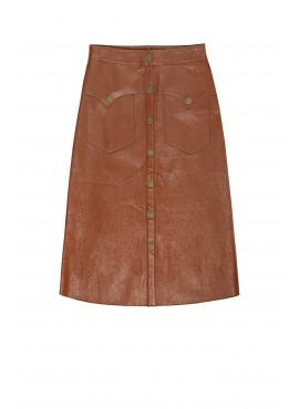 Western Inspired Midi Skirt