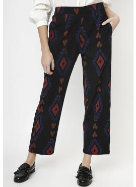 Ethnic Print Trousers