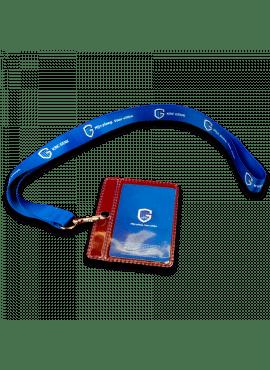Lanyard + badge holder