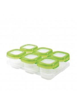 Zesdelige set diepvriesdoosjes 6x60 ml Green