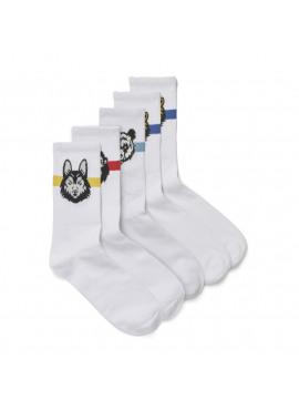 Jacanimals Tennis Sock 5-Pack Junior