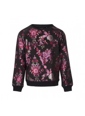 P184215 sweater black print