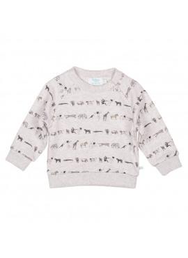 Sweatshirt Grijs/Zwart