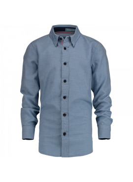 Blauw hemd Latcho
