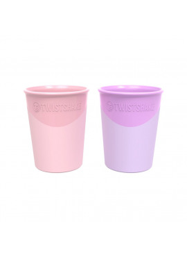 Beker 170ml Pastel Pink/Purple