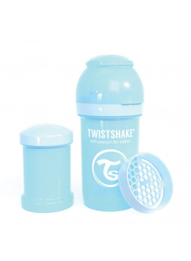 Fles 180ml Pastel Blue