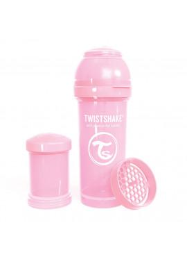 Fles 260ml Pastel Pink
