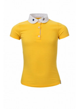 Little T-Shirt With Decorate Collar