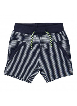 Short Navy Stripe