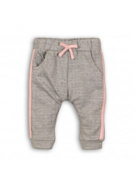 32B-32230 Baby trousers soft love grey melee